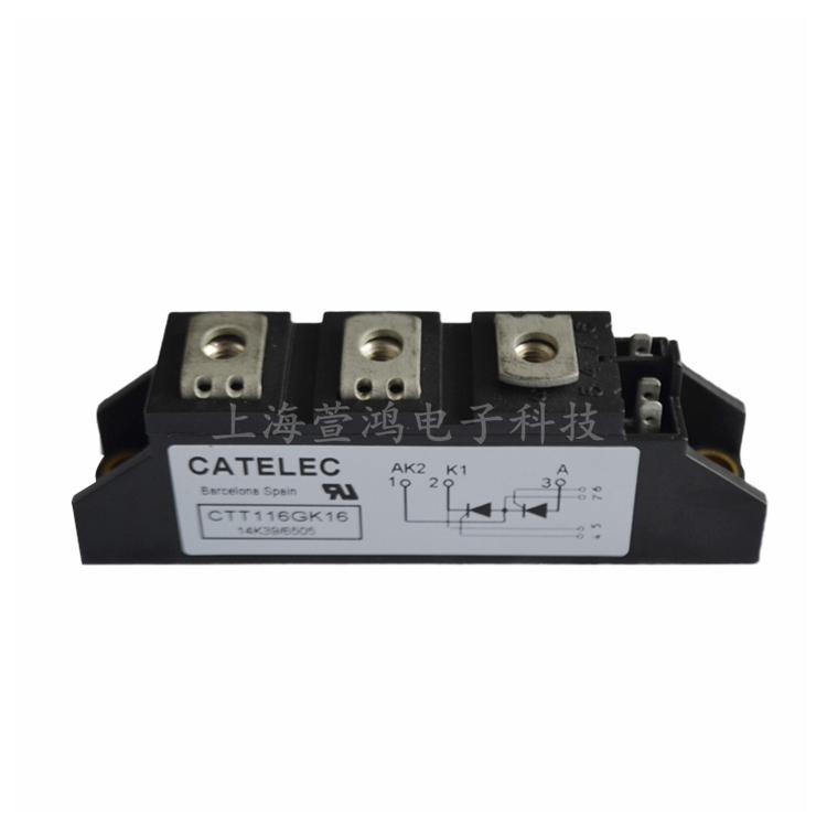 西班牙CATELEC可控硅模块 CTT116GK16