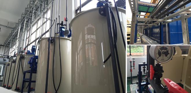 无锡某压缩机厂乳化液废水处理