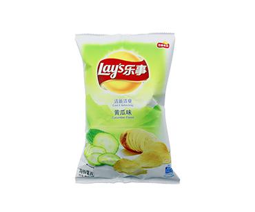 乐事黄瓜味薯片