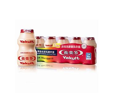 养乐多活性乳酸菌饮品