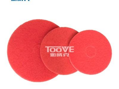 洗地机配件-百洁垫 通用红色清洁垫