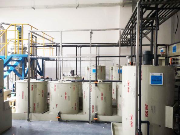 无锡某医疗器械有限公司含重金属废水处理工程