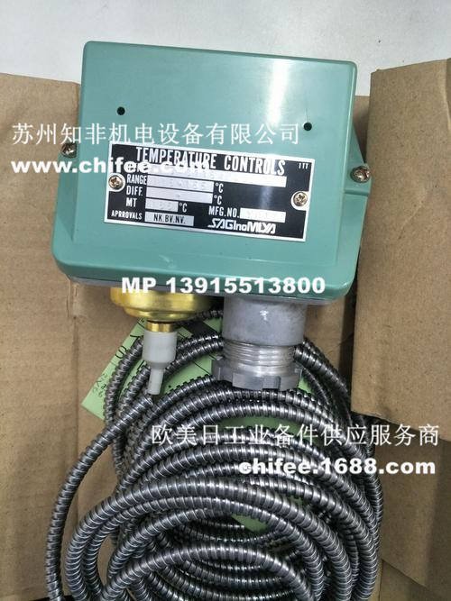 日本saginomiya鹭宫TNS,CNS,INS温度控制器LWS–C1030毛细管温度计PWS–7034温控阀EWS