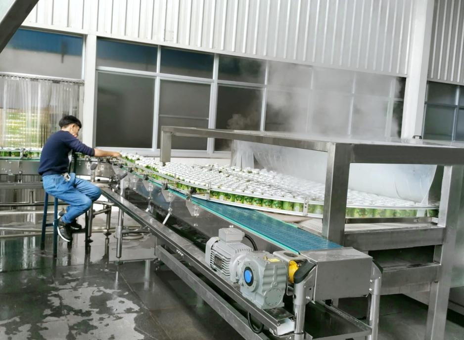 椰子饮料加工成套生产线