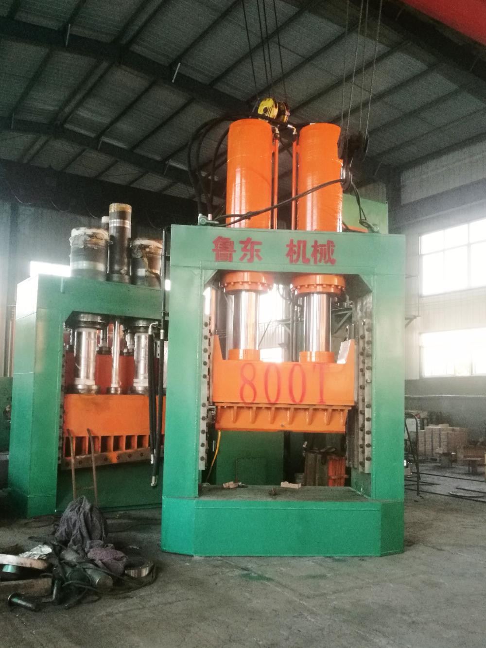 重型LD-YLJ800T型铸铁破碎压力机