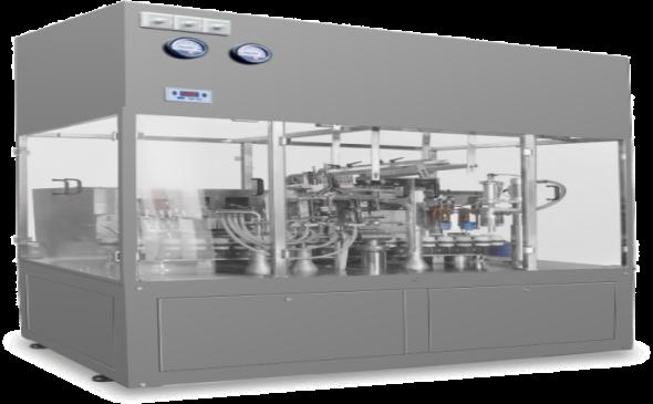 KFC160  Aseptic ointment filling&sealing machine