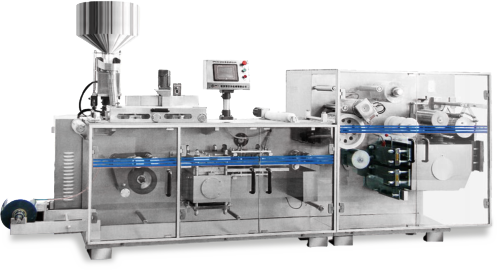 Solid preparation packaging production linkage line