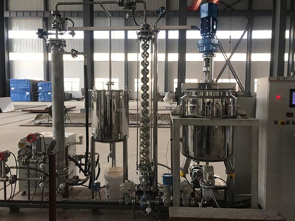 管式反应器热质传递装置