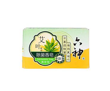 六神艾叶除菌香皂