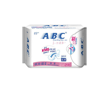 ABC夜用柔棉丝薄