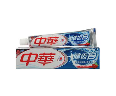 中华牙膏健齿白炫动果香味