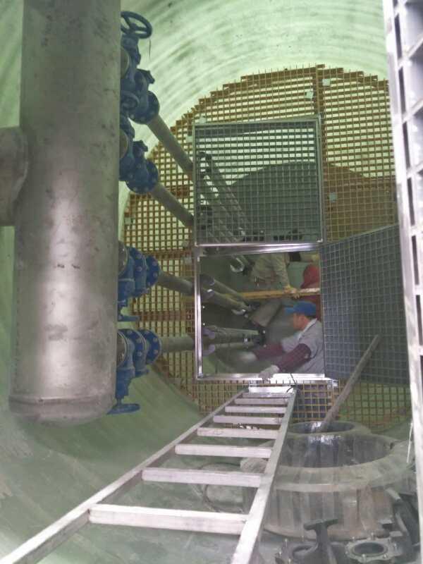 一體化污水泵站雨水泵站,一體化玻璃鋼泵站預制泵站構造