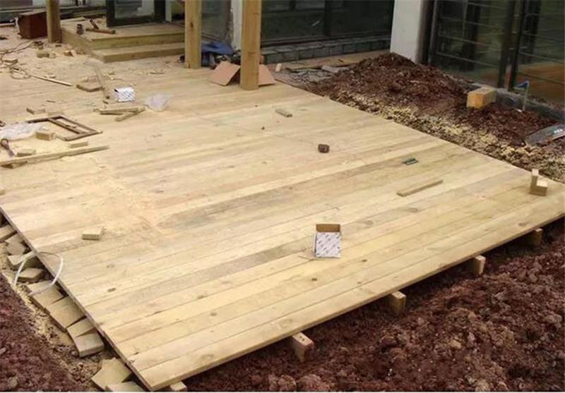防腐木地板平臺