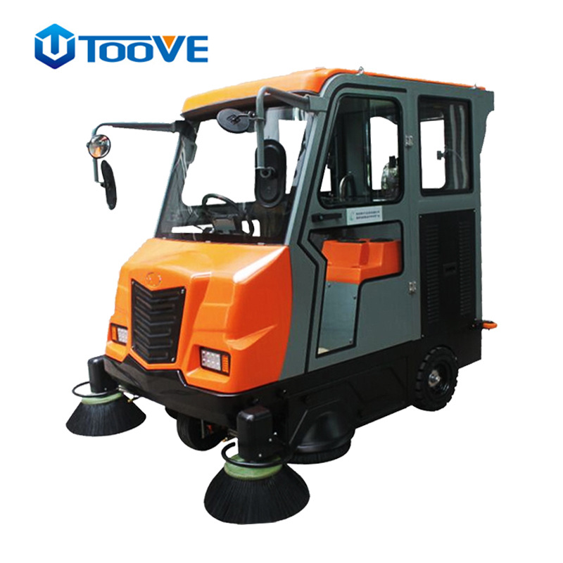 拓威克TS2100工厂大车间清扫机 大型驾驶式电动型扫地机