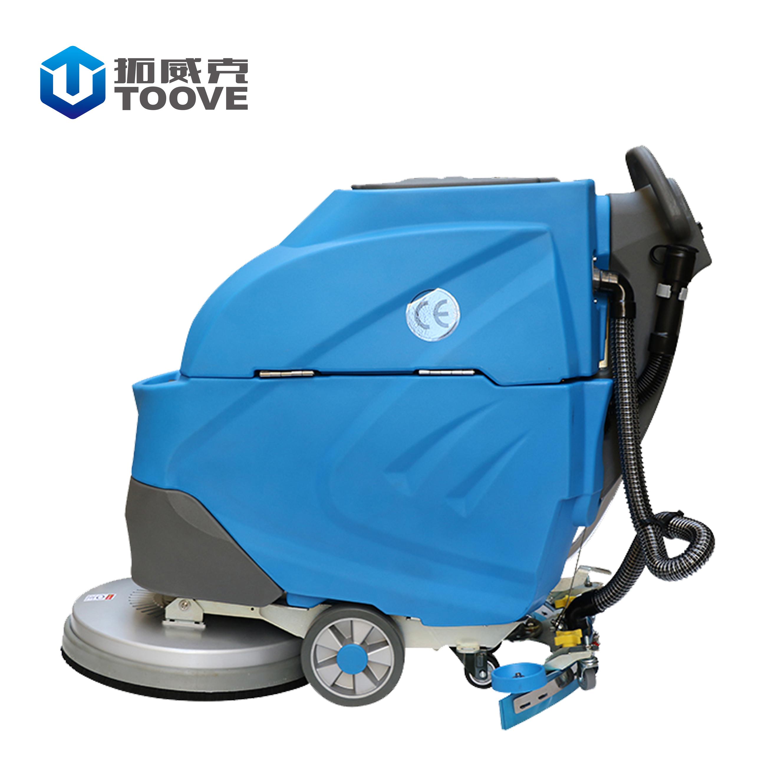 TX65B51手推式电动洗地机 工业车间酒店电梯物业环氧地面清洁
