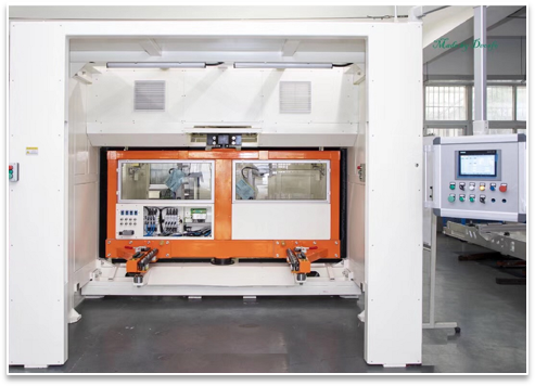 上汽CN220M仪表板铣削设备