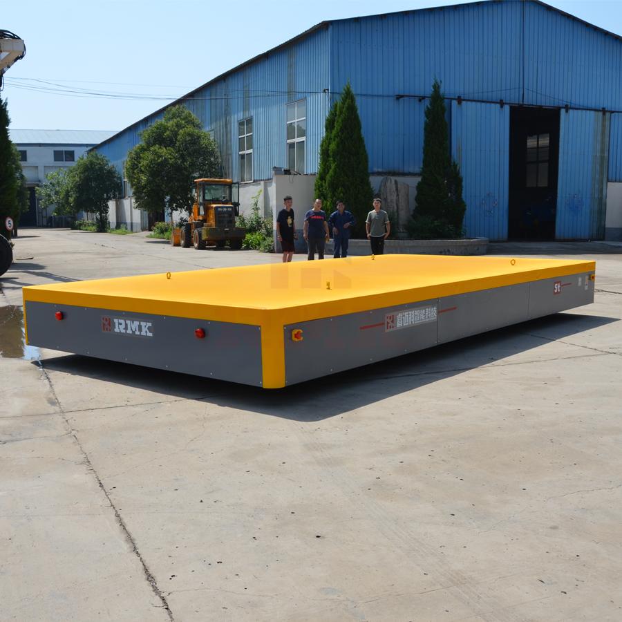 5吨大台面无轨电动平车/搬运车