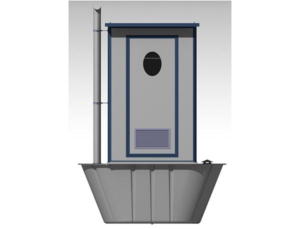 新式積肥池式廁所-環保廁所
