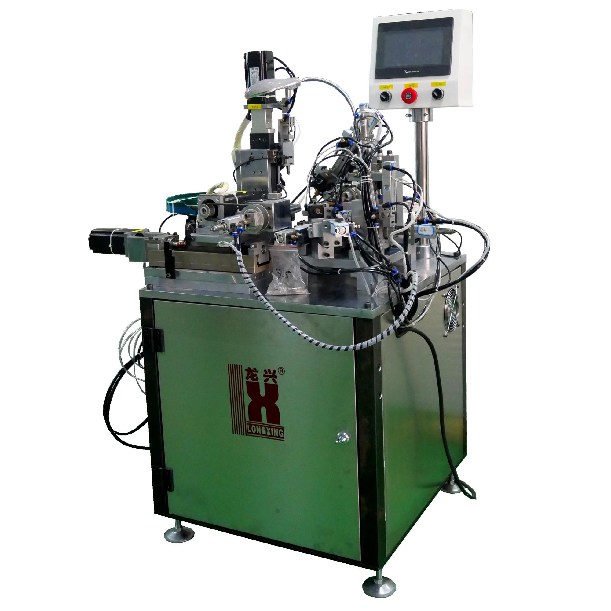 LX886佛珠链全自动焊接机