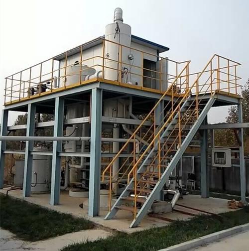 绿禾盛浅析工业废水MVR蒸发器