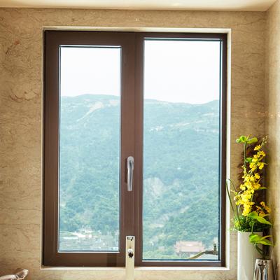 双层隔音玻璃窗户 帛大系断桥铝窗 上海铝合金门窗 平开窗-帛大门窗