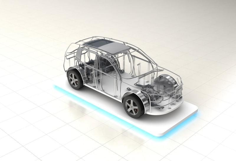 汽车展示模型