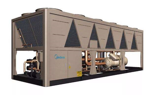 美的MC系列H高效空气源螺杆式热泵机组