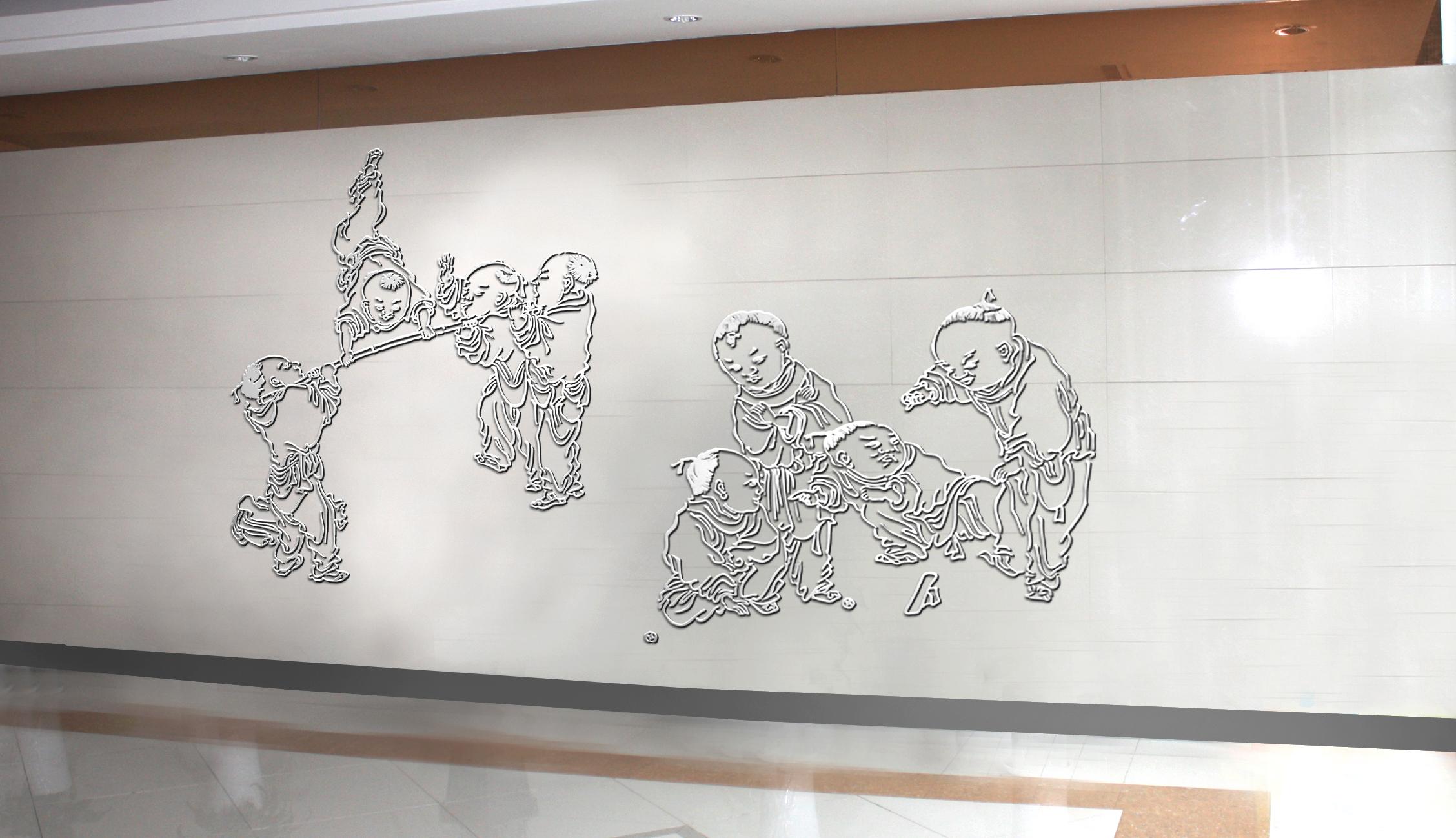 閔行君蓮學校文化建設