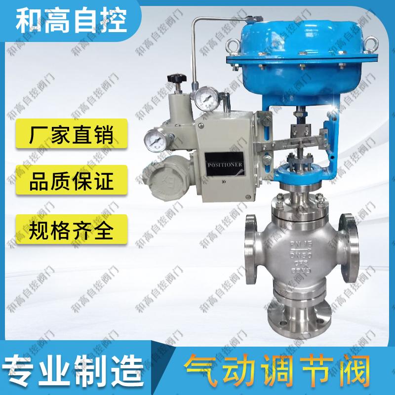 ZMBQ气动薄膜三通合流调节阀