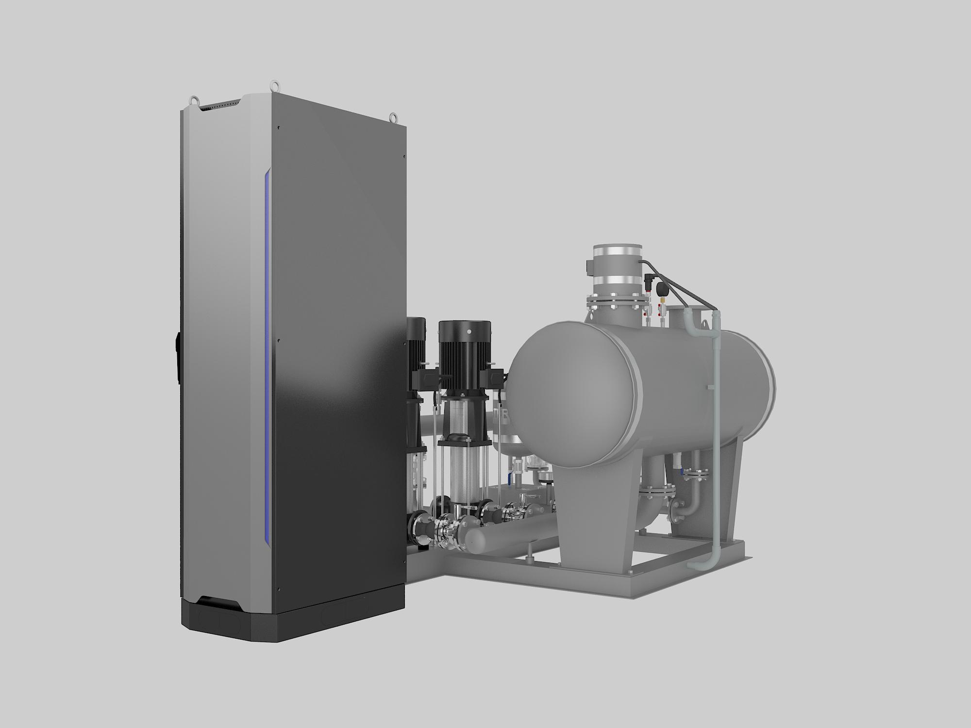 GDW系列管网叠压(无负压)给水设备