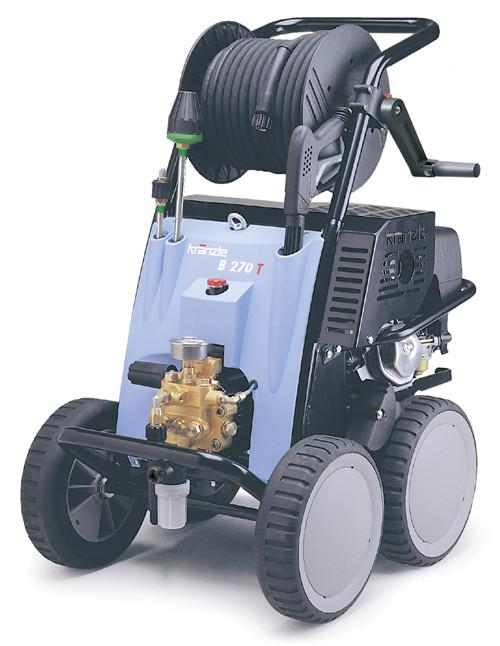 汽油高压清洗机 大力神B270T小广告清洗机-进口高压清洗机