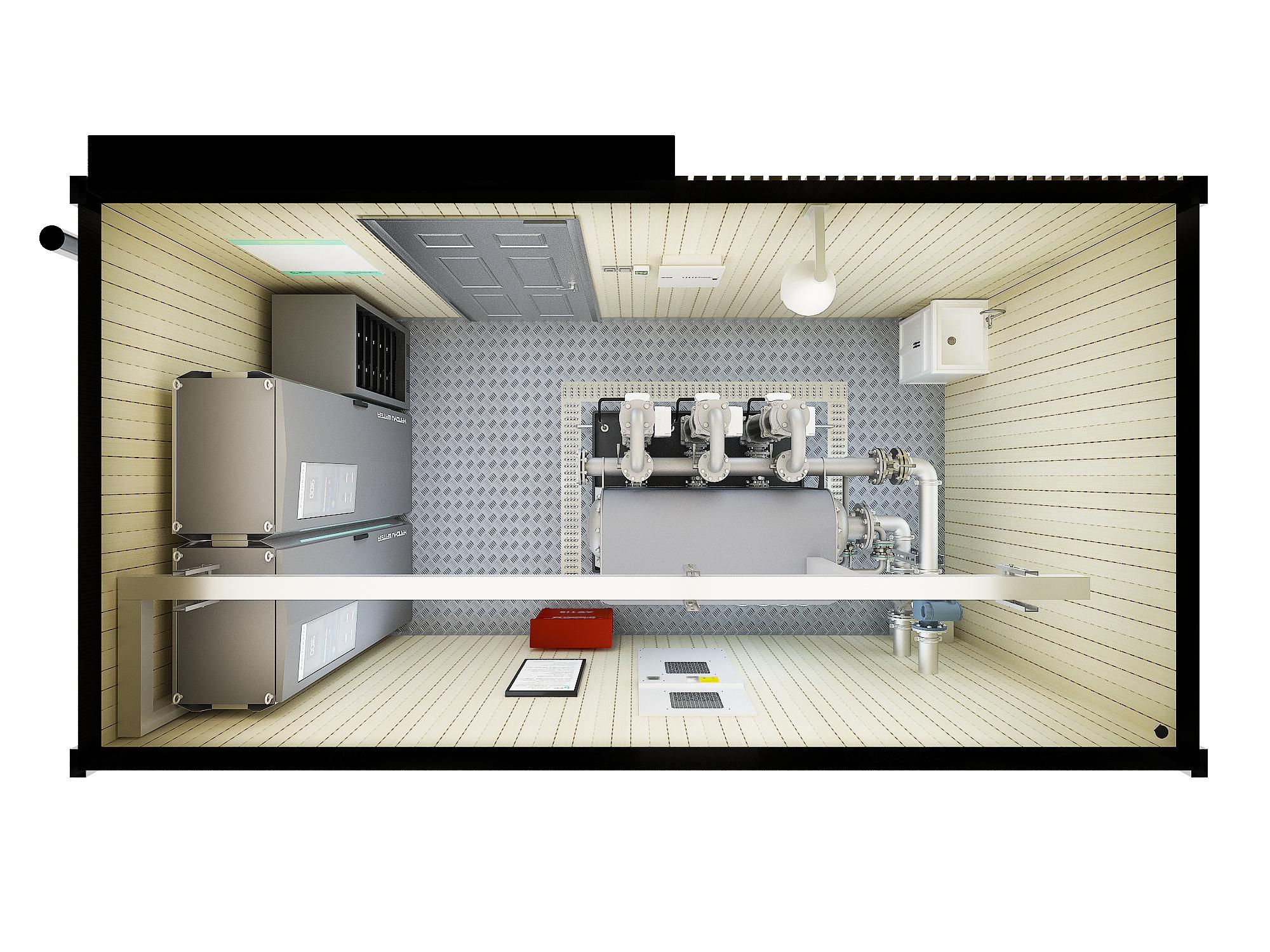 户外标准化泵房(无水箱)