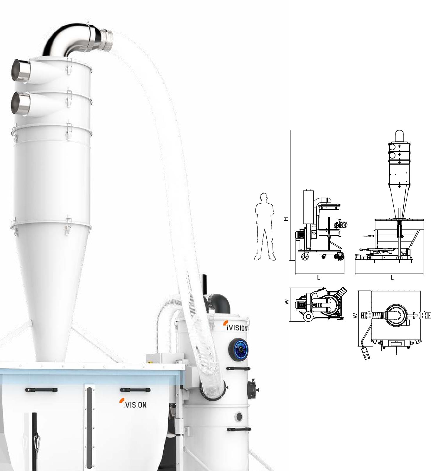 iv4-4-1160-2200 CNC除尘系统