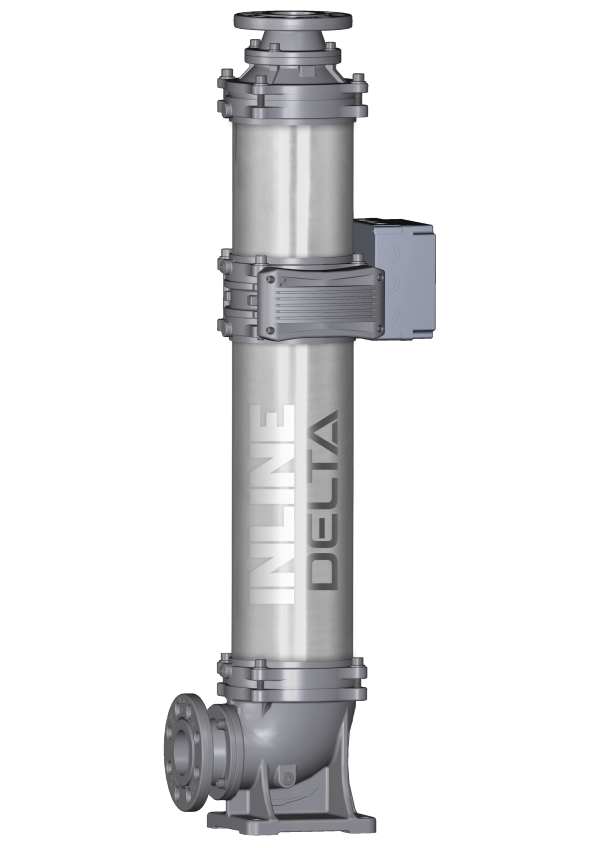 inlinel delta静音水泵