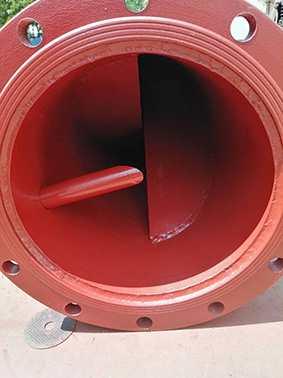 钢衬塑管道混合器
