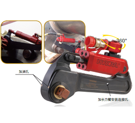 驅動式大功率液壓扳手HTB系列