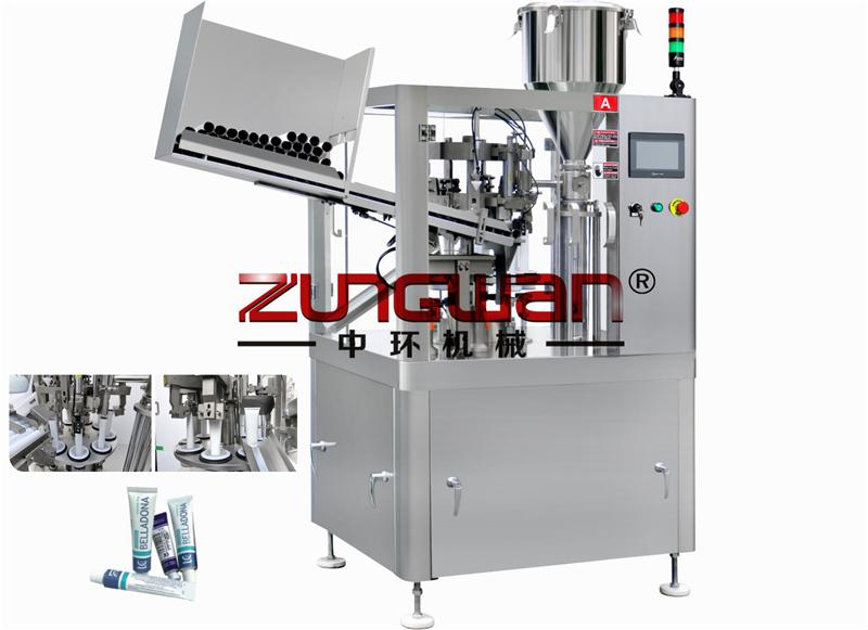 ZHF-60Z金属软管灌装封尾机
