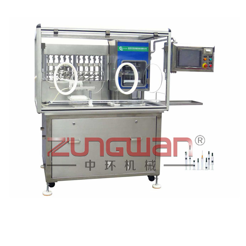 ZLS-300注射器预灌装压塞一体机
