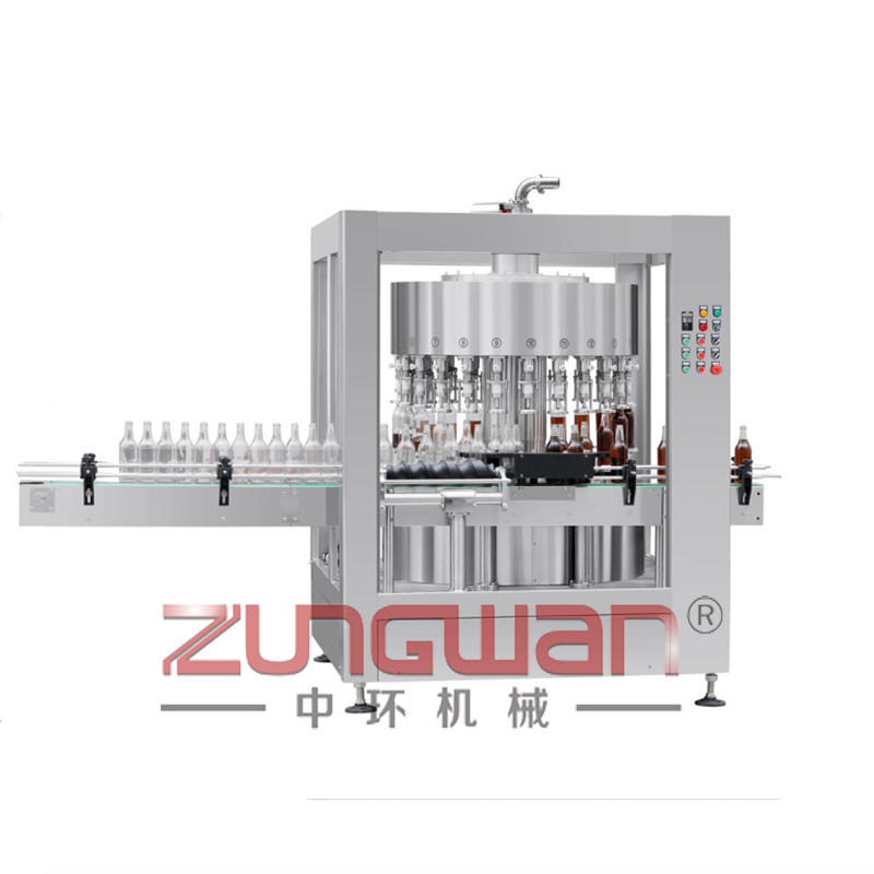 DGP-CZ-20旋转式称重式灌装机