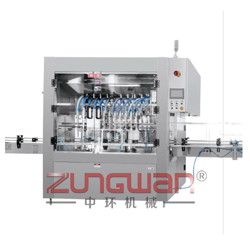 ZHBL-1922C全自动经济型膏液通用直列式伺服灌装机l