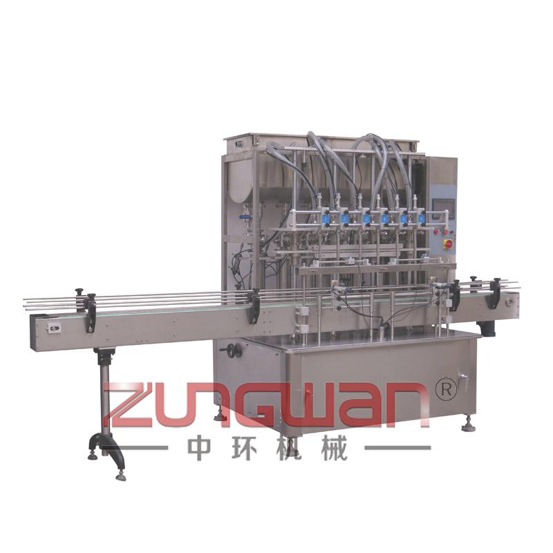 ZH6F-6N全自动直线式活塞灌装机