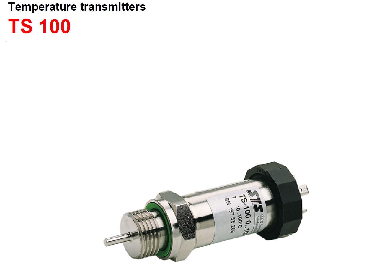 瑞士STS原装TS100温度传感器PTM/N/RS485可编程液位温度一体式变送器PTM/N/SDI012