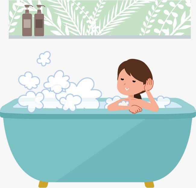 女性泡澡益处多