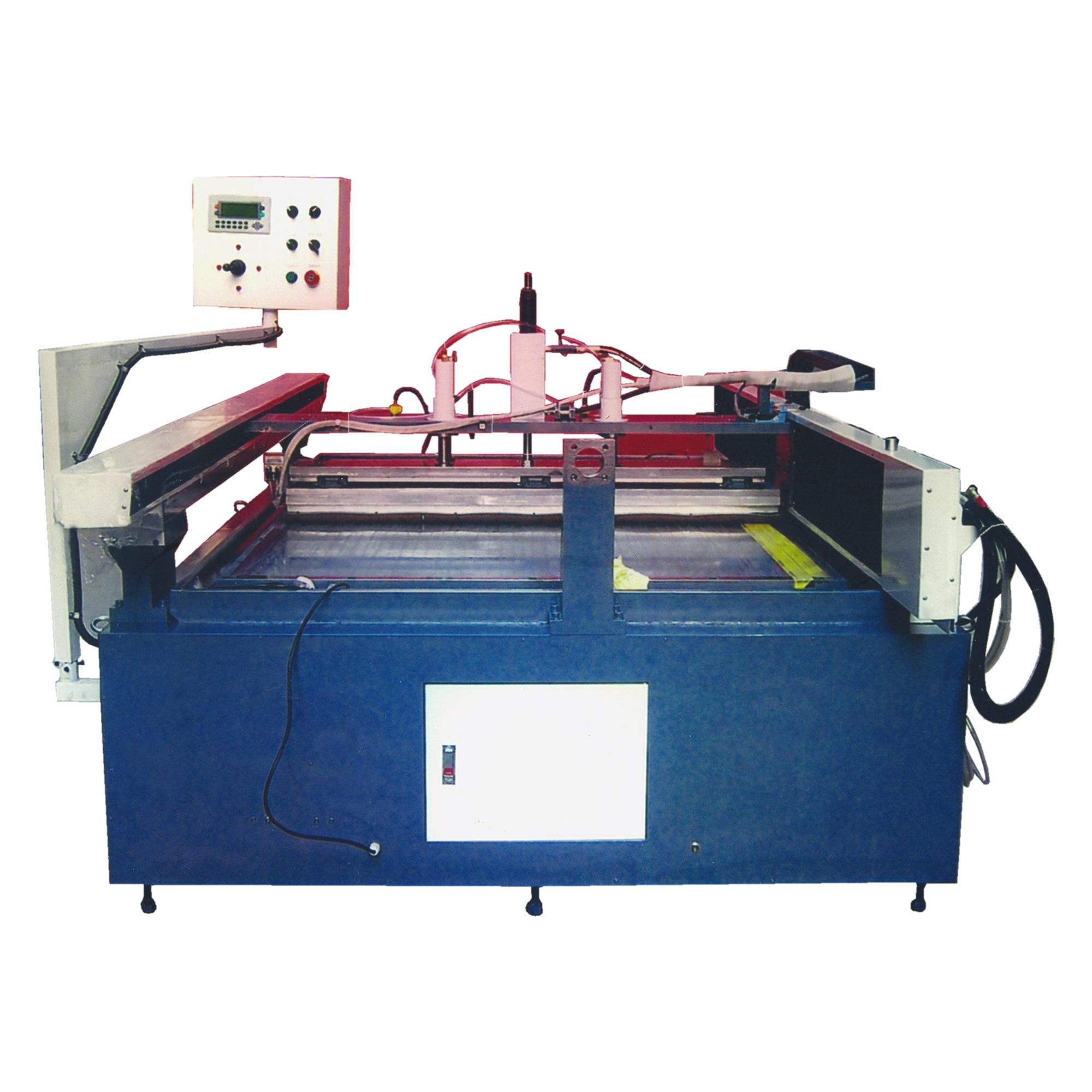 LX118平面掃紋機