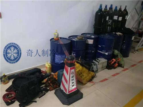 深圳中海油大厦特灵主机大修1.png