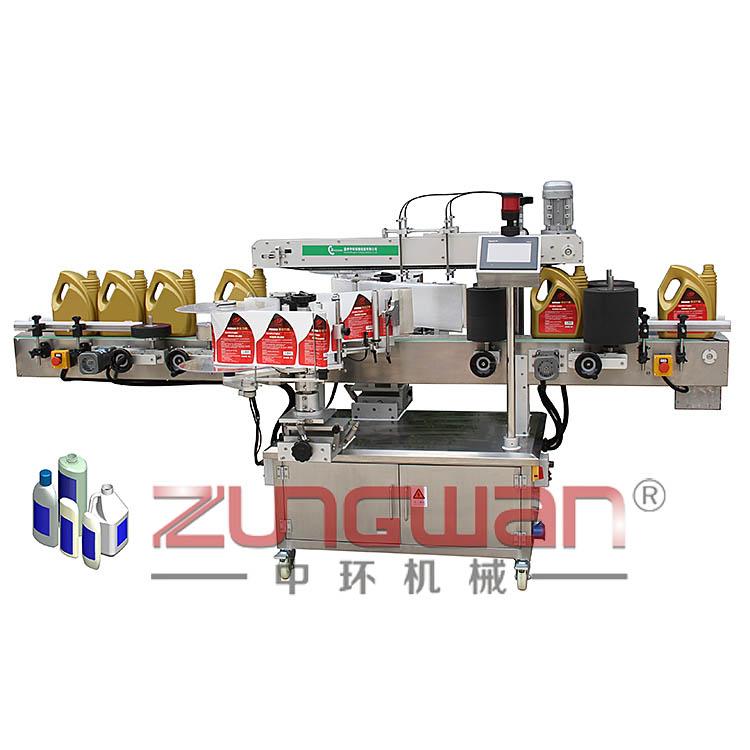 ZHTBS02不干胶单双面贴标机