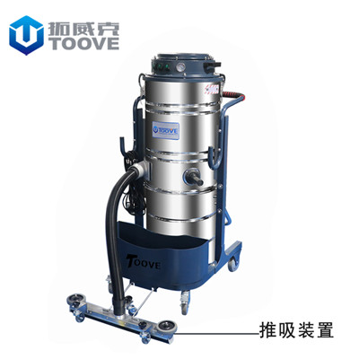 拓威克PY361ECO企业厂区用工业吸尘器 工厂车间干湿两用工业吸尘设备