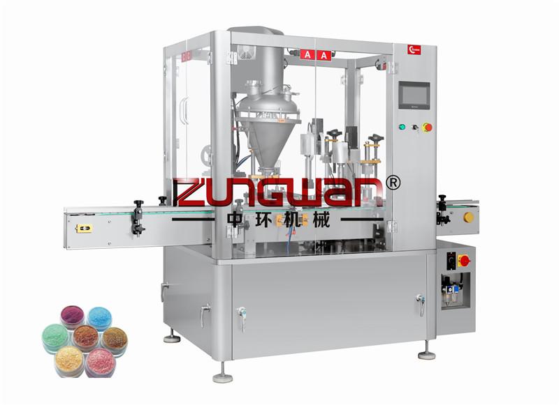ZH-3B1全自动粉末(粉剂)灌装旋盖一体机