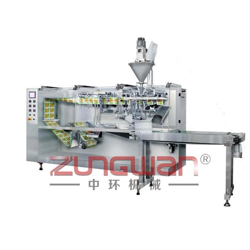 ZH-140型全自动水平式自动水粉两用袋式包装机
