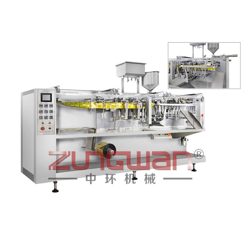 ZH-180水平式全自动水粉两用袋包机